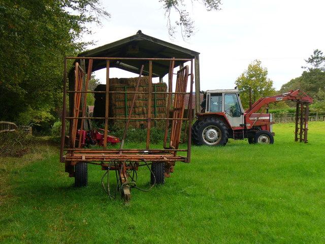 Harvest Near Park Mill Farm
