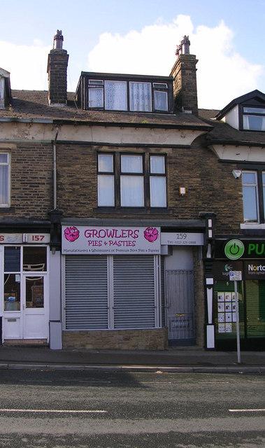 Growlers Pies & Pasties - Richardshaw Lane