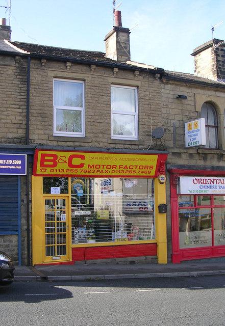 B & C Motor Factors - Richardshaw Lane