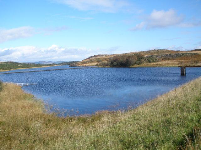 Loch Dhu from the dam
