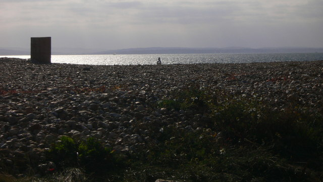 Shingle on South Hayling beach