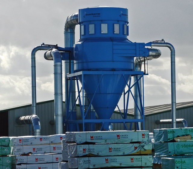 Dantherm Filtration Unit at New Holland Dock