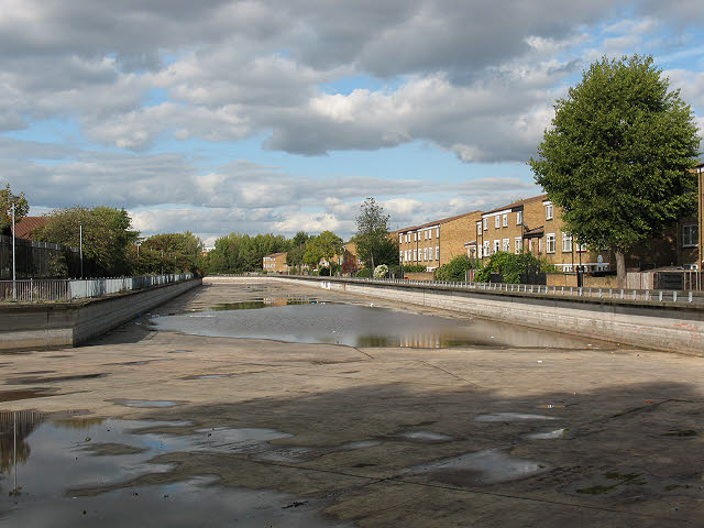 The Pilkington Canal, drained (1)