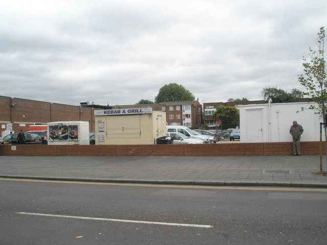 Car park in South Road