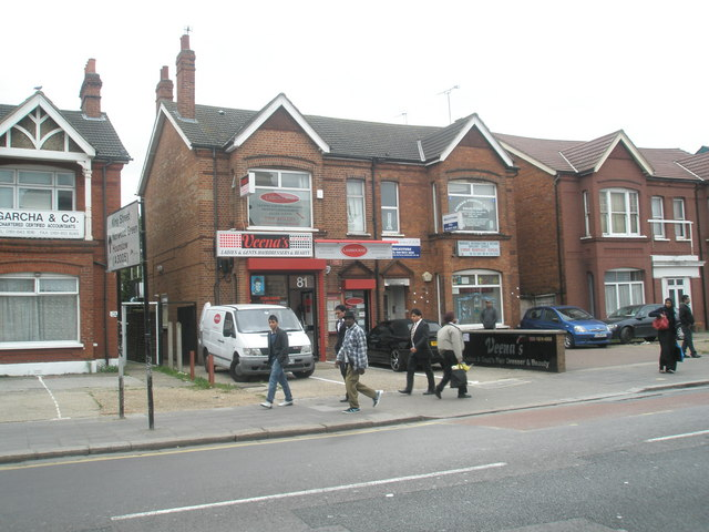 Hairdressers in South Road