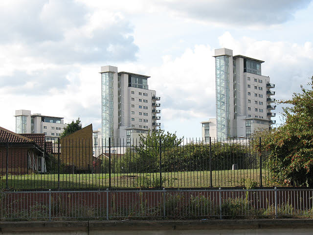 Towers on Erebus Drive, Thamesmead