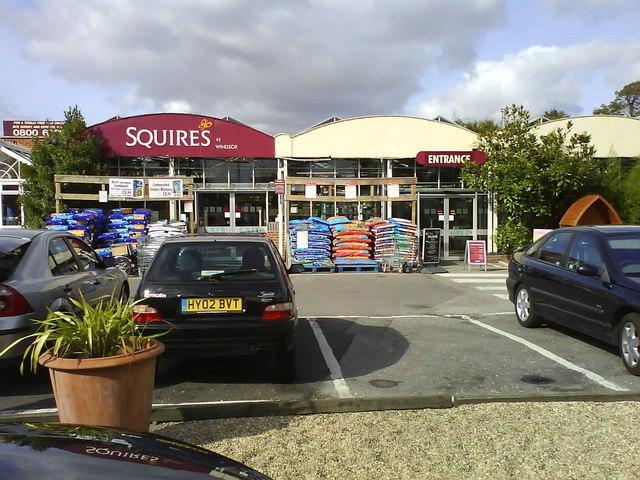 Squires Garden Centre near Windsor