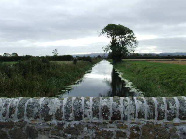 Oldbridge River looking South east from Bridge