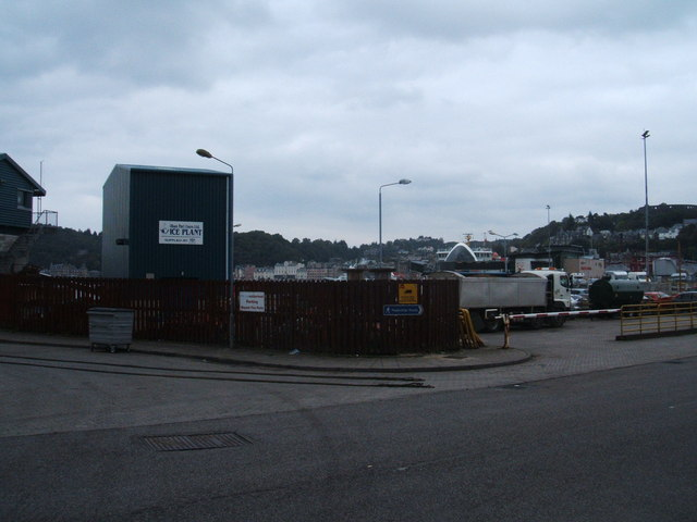 Entrance to Ferry Terminal, Oban