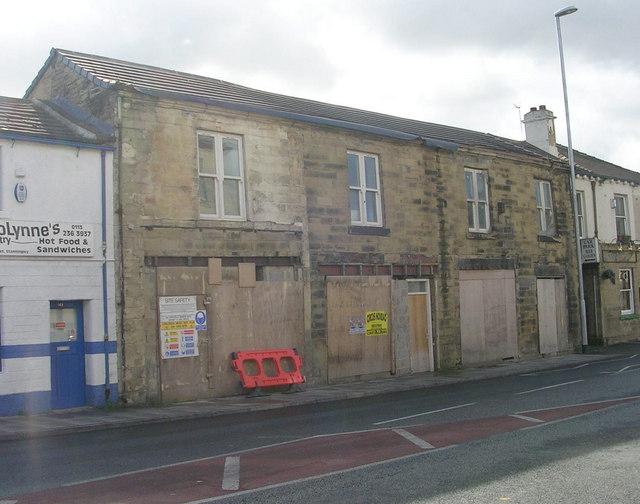 Empty Shops - Town Street