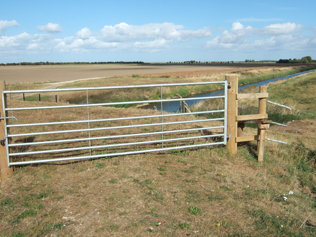 A new gate and stile