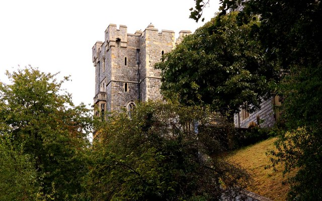 Winchester Tower in Windsor Castle