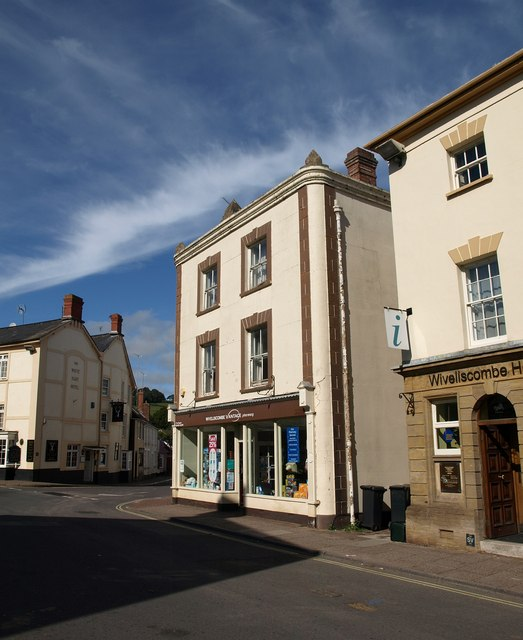 Buildings in The Square, Wiveliscombe