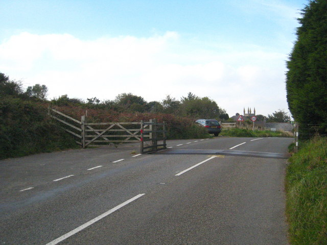 Cattle grid on St Cleer Downs