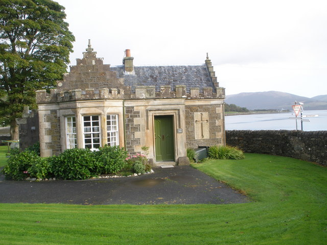 Lodge House for Kames Castle
