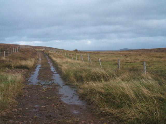 Track into Druim Mor, Griais, Lewis