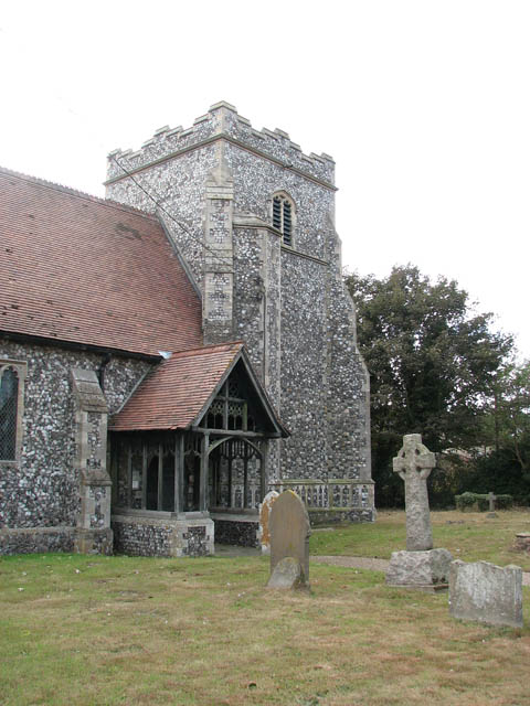 St Botolph's church - tower and north porch