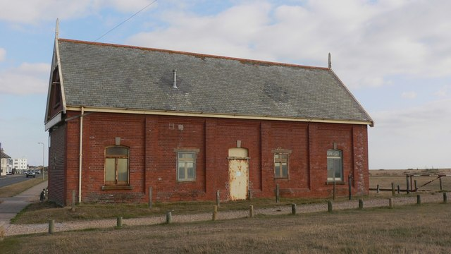 This old building is used by Army Cadets