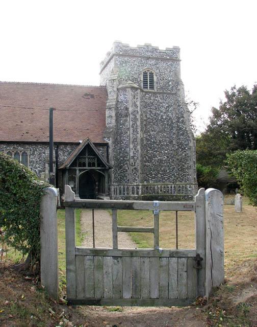 St Botolph's church - churchyard gate
