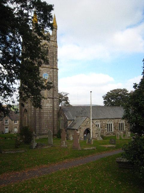 The parish church of St Cleer