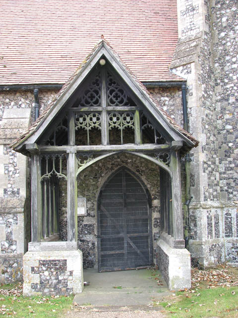 St Botolph's church - the north porch