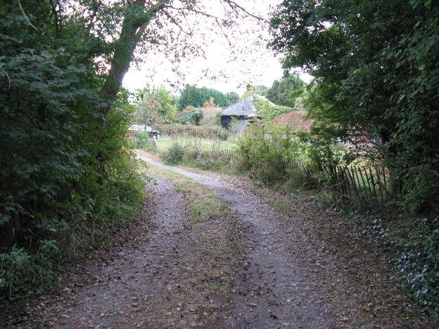Footpath to Little Oreham Farm