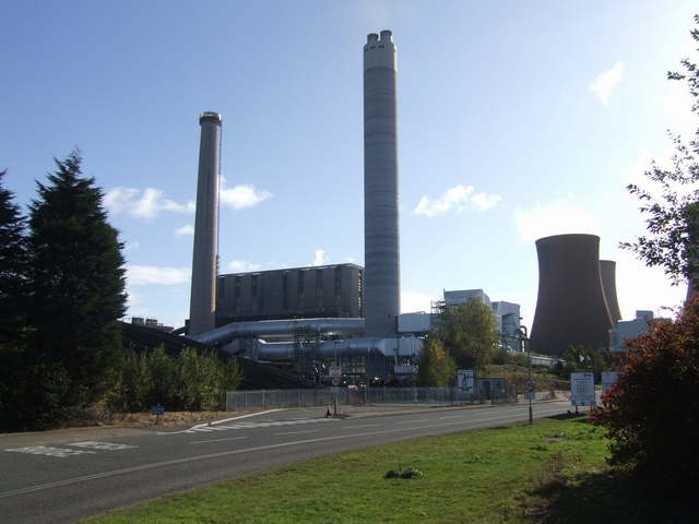 Flue Gas Desulphurisation Plant at Rugeley Power Station