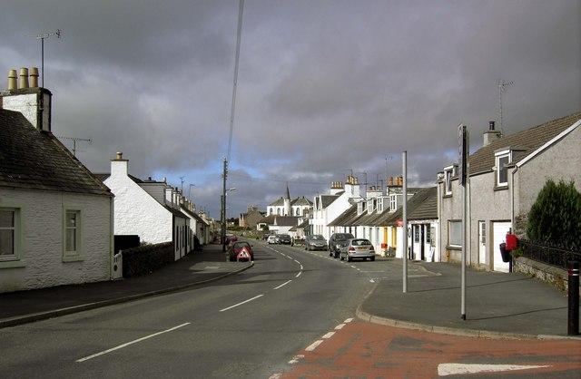 Main Street, Crossmichael.