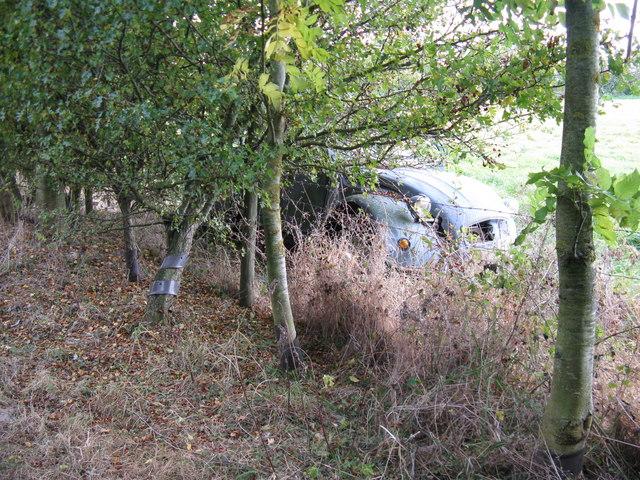 Abandoned 2CV