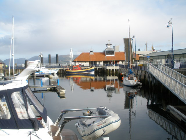 Harbour at Rothesay