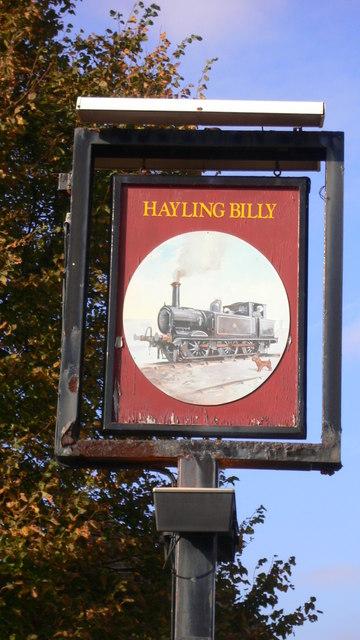 """""""Hayling Billy"""""""