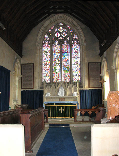 St Botolph's church - the chancel