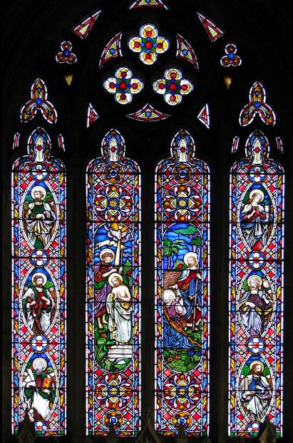St Botolph's church - east window