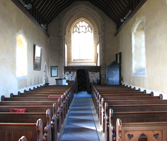 St Botolph's church - view west