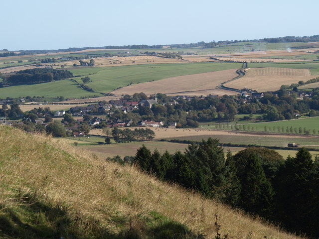 View of Ceres area from Hill of Tarvit