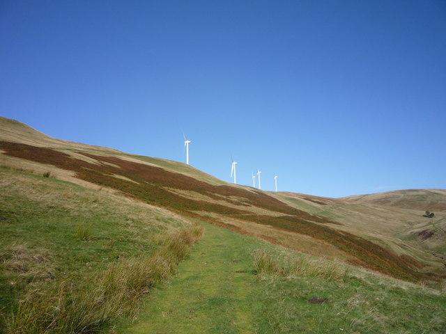 Wind turbines at Greenknowes