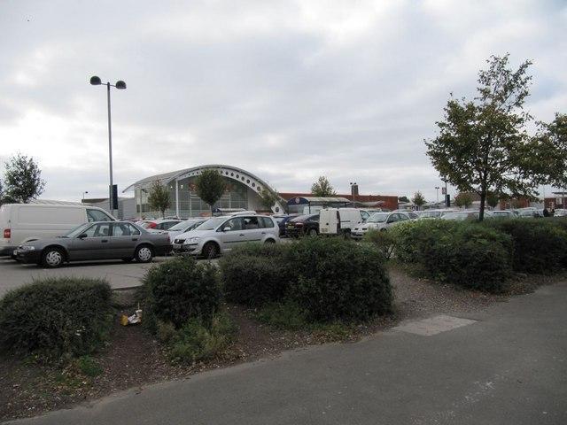 Sainsbury's across the car park