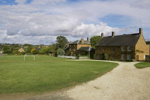Village green, Warmington