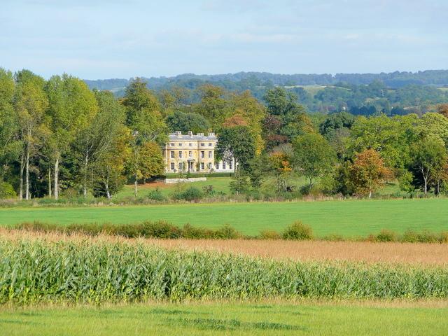 Wormington Grange; early autumn