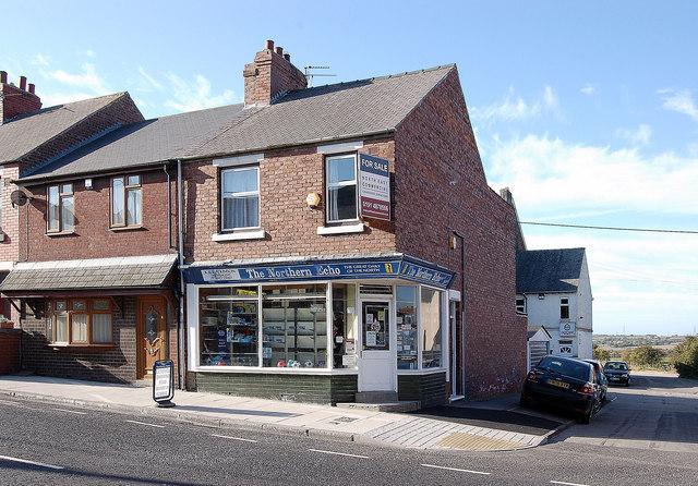 Newsagents, Durham Road West, Bowburn