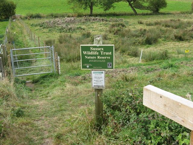 Sussex Wildlife Trust Nature Reserve
