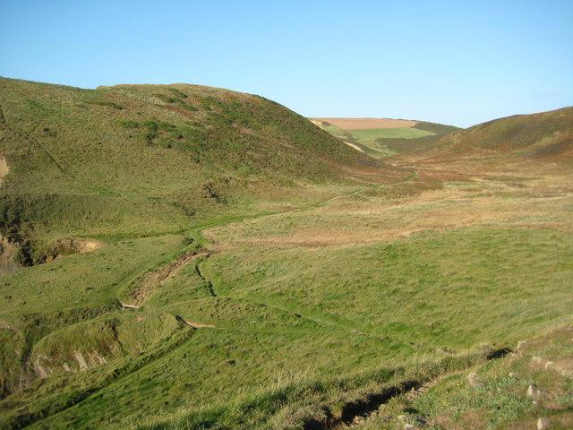 Valley below Smoothlands