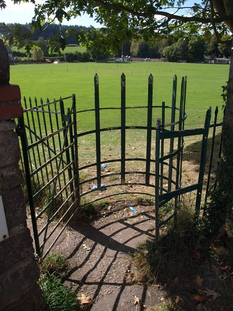 Kissing gate, Wiveliscombe Recreation Ground