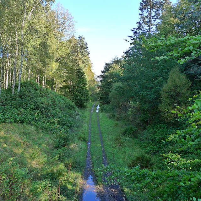 Dismantled railway, Ballathie