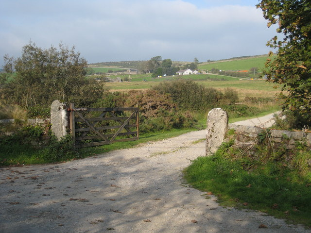 The entrance to Carkeet