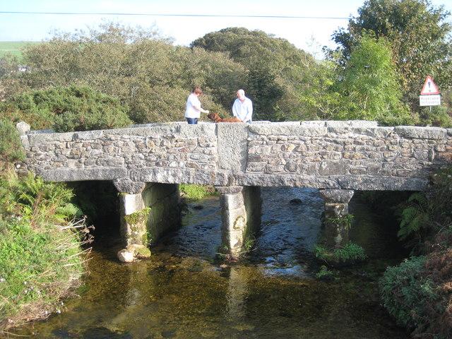 Bridge over the River Fowey at Ninestones Farm