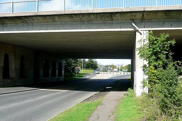 A1 crossing