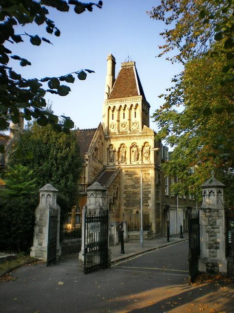 Sir W. Powell's Almshouses, Church Gate
