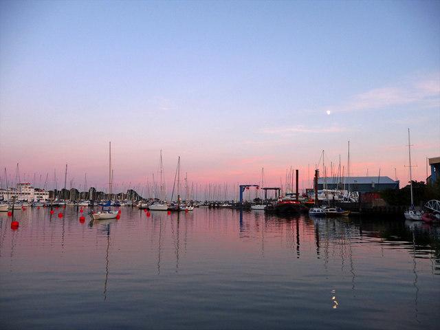 Lymington Harbour, Hampshire