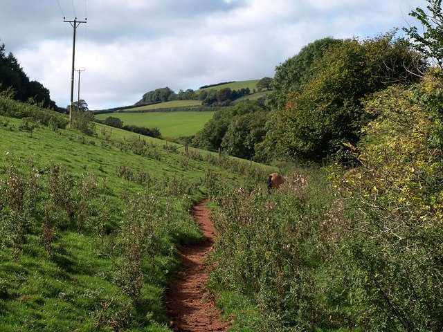 Footpath near Culverhay Farm